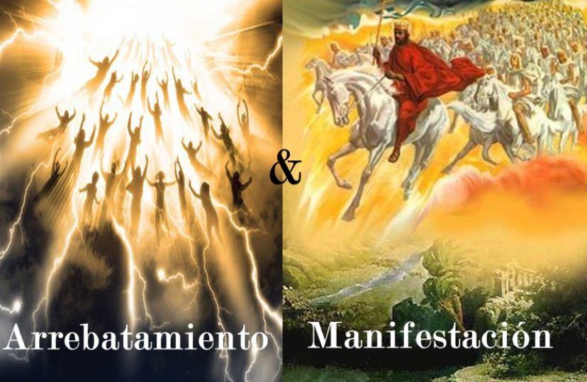 Cristo a Caballo, la venida de Cristo, hombres subiendo al cielo