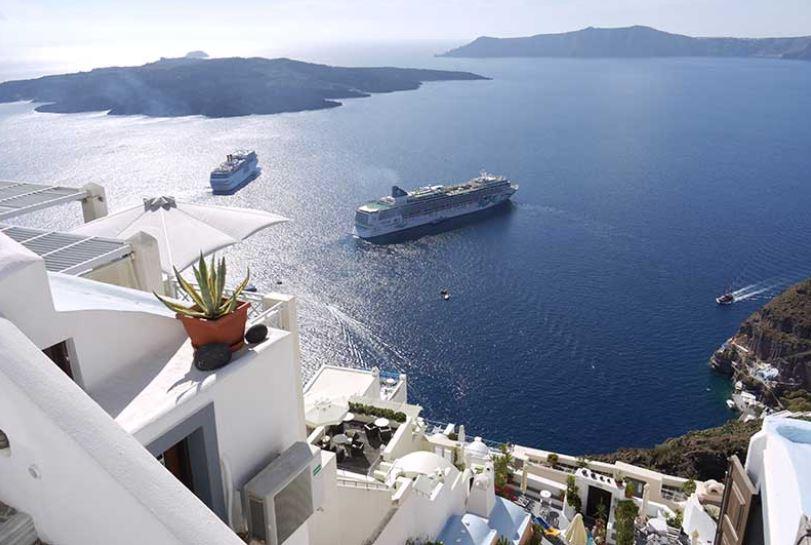 crucero en las islas griegas
